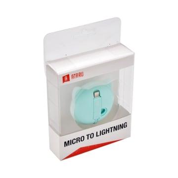 ATARU KABEL USB TO MICRO/LIGHTNING BEAR - HIJAU_2
