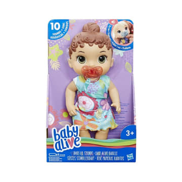 BABY ALIVE BONEKA BAYI LIL SOUND BROWN HAIR_2