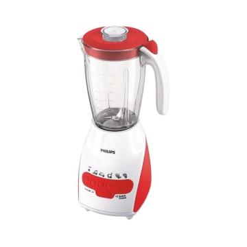 PHILIPS Blender Plastik 2 Liter HR2115 - Merah/Hijau/Biru - Merah_1
