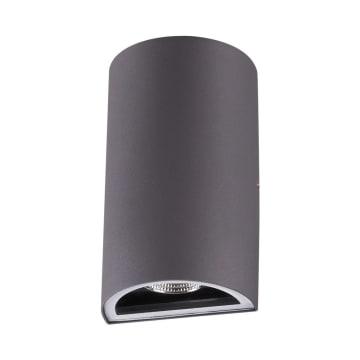 KRISBOW LAMPU DINDING HALF ROUND 6W 6500K_1