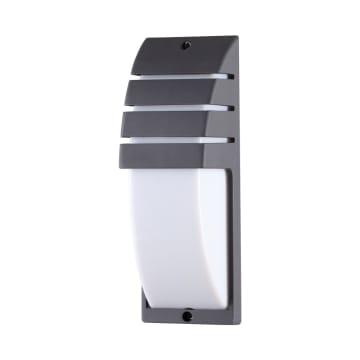 KRISBOW LAMPU DINDING OUTDOOR HALF TUBE 10W 6500K_1