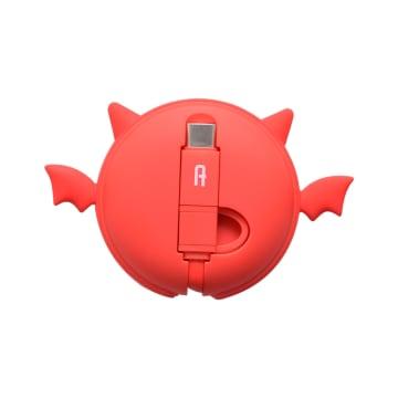 ATARU KABEL USB TO MICRO/TYPE C DEVIL - MERAH_1