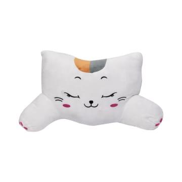 RELAS BANTAL PUNGGUNG MOBIL CUTE CAT - PUTIH_1