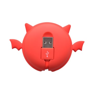 ATARU KABEL USB TO MICRO/TYPE C DEVIL - MERAH_3