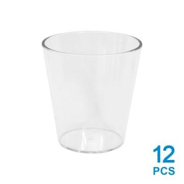 KRISCHEF SET CANGKIR PLASTIK MINI 12 PCS_1