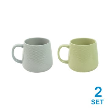 APPETITE SET MUG DOT 400 ML 4 PCS_1