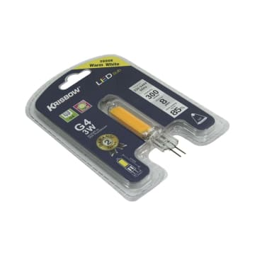 KRISBOW BOHLAM LED G4 3W 300LM - WARM WHITE_2