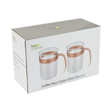TEA CULTURE SET MUG 200 ML 2 PCS - COPPER_4