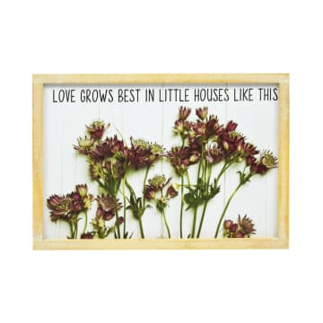 HIASAN DINDING LOVE GROWS 35.5X25.5X2 CM_1