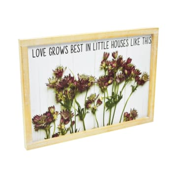 HIASAN DINDING LOVE GROWS 35.5X25.5X2 CM_2