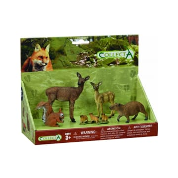 COLLECTA FIGUR WOODLAND 5 PCS_1