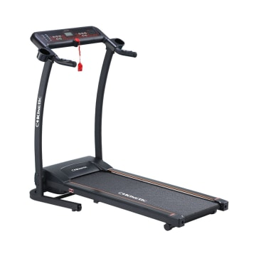 BERWYN TREADMILL KINETIC MOTORIZED 0.8 HP - HITAM ORANGE_1