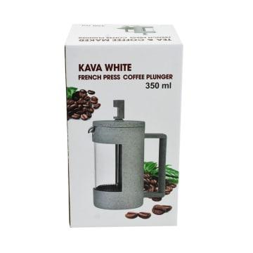 TEA CULTURE TEKO KOPI COFFEE PRESS KAVA 350 ML - PUTIH_4