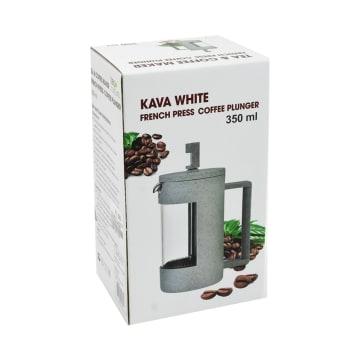 TEA CULTURE TEKO KOPI COFFEE PRESS KAVA 350 ML - PUTIH_3