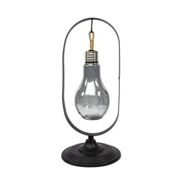 ARTHOME LAMPU MEJA TEMPAT LILN ELIPS 37.5 CM - HITAM_1