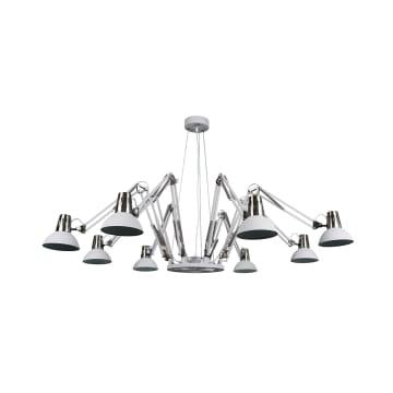 EGLARE SPIDER LAMPU GANTUNG HIAS 8L - PUTIH_1