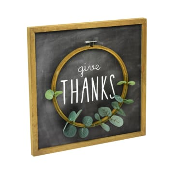 HIASAN DINDING GIVE THANKS 36X36 CM_2