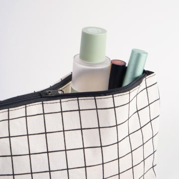 ATARU POUCH CANVAS CHECKERED_2