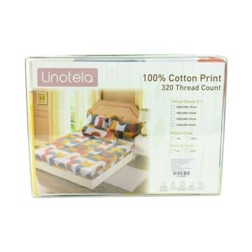 LINOTELA SET SEPRAI KATUN PIPPA 160X200+35 CM 7 PCS_3