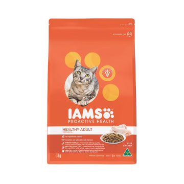 IAMS MAKANAN KUCING PROACTIVE HEALTH CHICKEN 3 KG_1