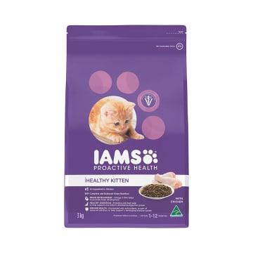 IAMS MAKANAN ANAK KUCING PROACTIVE HEALTH CHICKEN 3 KG_1