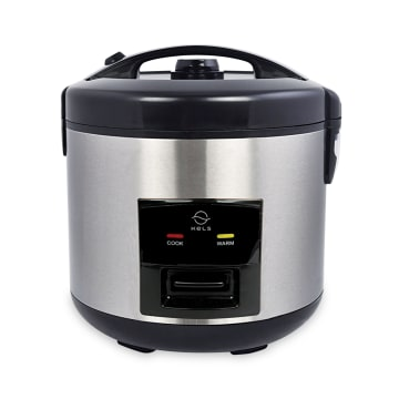 APPETITE ELECTRICAL HUBERT RICE COOKER 1.2 LTR - SILVER_1