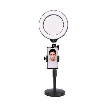 STAND SELFIE DENGAN LAMPU RING 16 CM_1