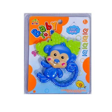 TOMINDO MONKEY TEETHER / GIGITAN BAYI NON TOXIC_1