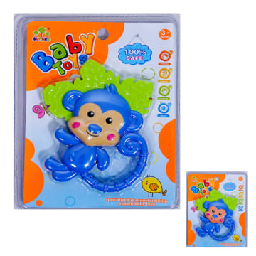 TOMINDO MONKEY TEETHER / GIGITAN BAYI NON TOXIC_2