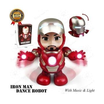 TOMINDO MAINAN ROBOT IRONMAN DANCE_3