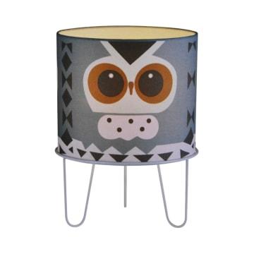 EGLARE LAMPU MEJA OWL E27 - BIRU_1