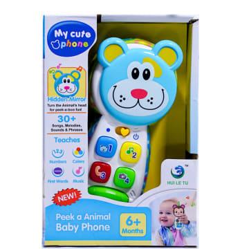 TOMINDO MAINAN MUSIK BABY PHONE BEAR LT3986_1