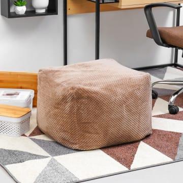 BEAN BAG SQUARE - COKELAT_1