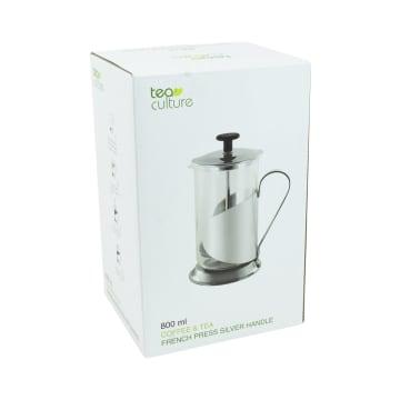 TEA CULTURE TEKO FRENCH PRESS 800 ML - SILVER_4