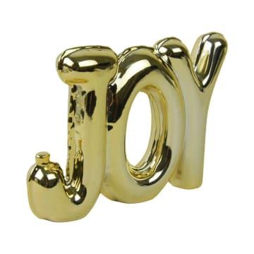 MINIATUR DEKORASI JOY 17.7X3.4X12.7 CM - GOLD_1