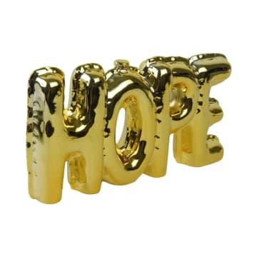 DEKORASI MEJA  HOPE 22X3.7X11.3 CM - GOLD_1