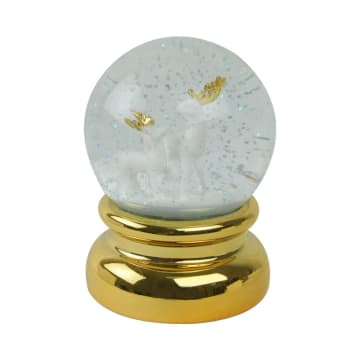 WATER GLOBE DUNDER 13.5 CM - GOLD_1