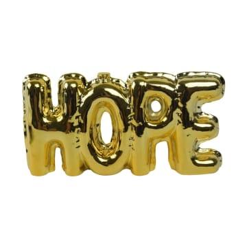 DEKORASI MEJA  HOPE 22X3.7X11.3 CM - GOLD_2