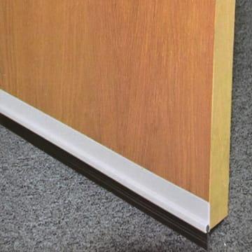 KRISBOW PENUTUP LUBANG BAWAH PINTU PVC-KARET 91 CM - PUTIH_2