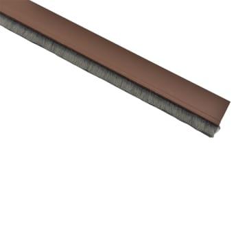 KRISBOW PENUTUP LUBANG BAWAH PINTU PVC-PILESEAL 91 CM- COKELAT_1