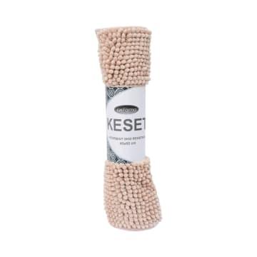 KESET CHENILLE 40X60 CM - KREM_1