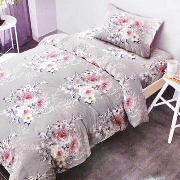KRISHOME BED COVER FLOWER 150X220 CM - ABU-ABU_1