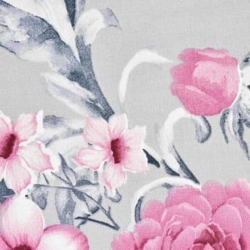 KRISHOME SET SEPRAI MICROFIBER FLOWER 180X200+30 CM - ABU-ABU_2