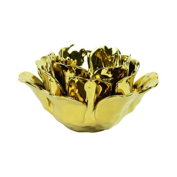 TEMPAT LILIN FIONA 19X19X10 CM - GOLD_1