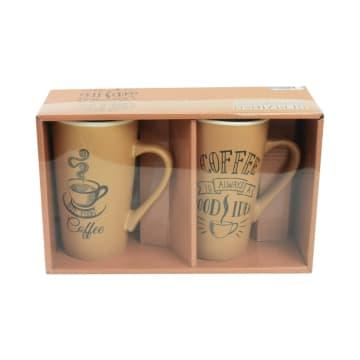 APPETITE SET MUG COFFEE GOOD 500 ML 2 PCS_4