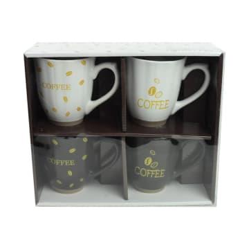 APPETITE SET MUG COFFEE SEED 410 ML 4 PCS_6