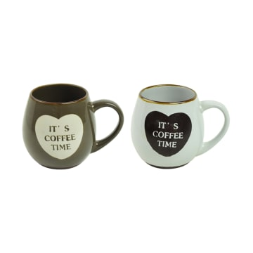 APPETITE SET MUG COFFEE LOVER 530 ML 2 PCS_1