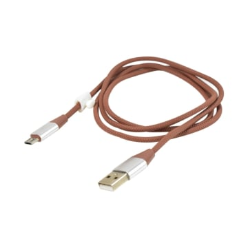 ATARU KABEL CHARGER BRAIDED USB TO MICRO USB - COKELAT_1