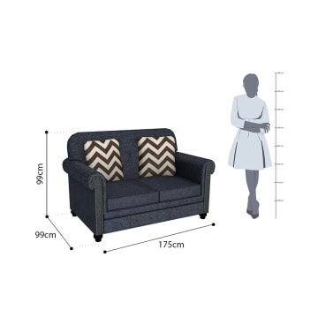 ASHLEY LAVERNIA SOFA 2 DUDUKAN - BIRU NAVY_3