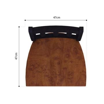 ASHLEY OWINGSVILLE KURSI MAKAN D580 - COKELAT_5